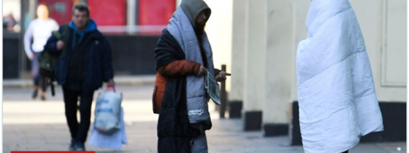 BBC tweet homeless back on the street by July
